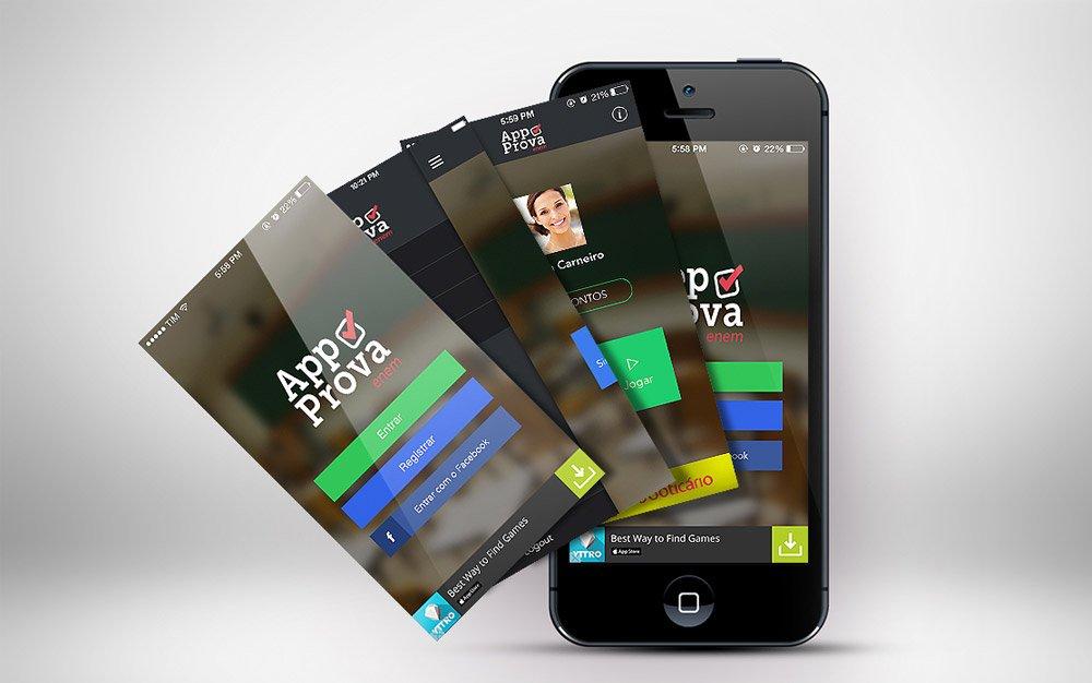 aplicativo para vestibular