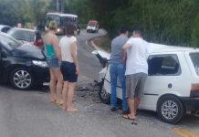 Acidente entre Andradas e Ibitiúra (Foto Andradas Hoje Regional)