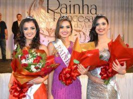 Rainhas e Princesas festa do vinho de Andradas 2016