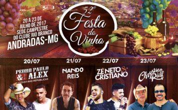 Festa do Vinho 2017 Andradas