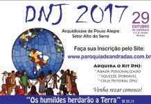 Dia Nacional da Juventude (DNJ) será realizado neste domingo em Andradas