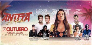 Anitta faz show em Poços de Caldas