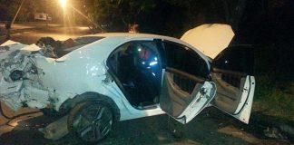Grave acidente em Poços de Caldas neste domingo