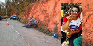 Homem morre após capotar gaiola de trilha na zona rural de Jacutinga