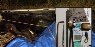 Moradores de Andradas são flagrados furtando gado em Ipuiuna