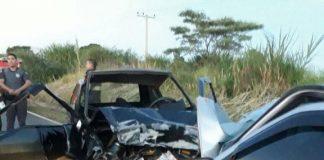 Acidente entre Pinhal e Jardim deixa dois mortos no fim de semana