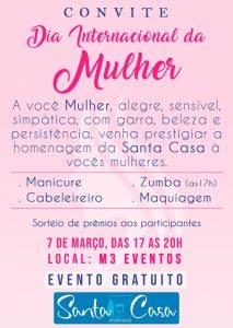 Santa Casa promove um dia especial para as Mulheres