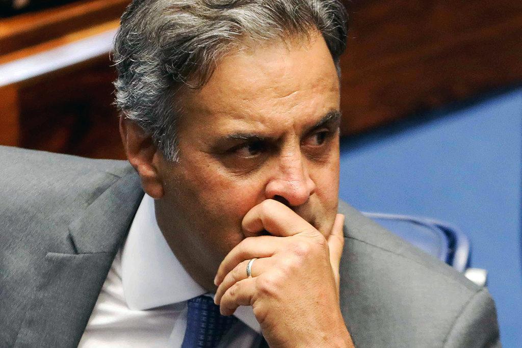 Aécio Neves vira réu no Supremo Tribunal de Justiça