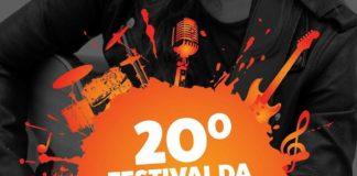 Músicas classificadas para o 20º Festival da Canção de Andradas