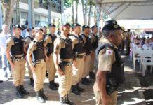 Novos policiais militares são apresentados ao município de Andradas